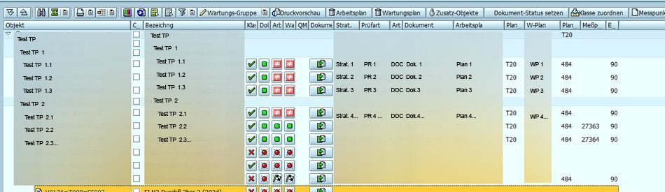 IH - Arbeitspläne - Anwenderfreundliche, übersichtliche Arbeitsoberfläche im SAP PM