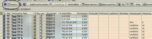 SAP Klassifizierung 02