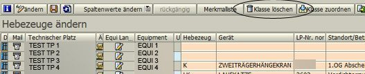 SAP Klassifizierung 06