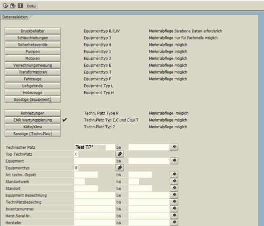 SAP Klassifizierung 01