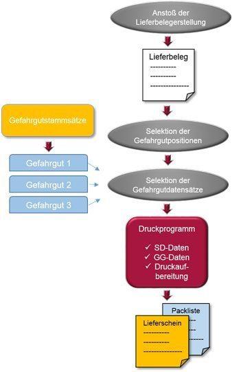 SAP Gefahrgutabwicklung - Erstellung von Gefahrgutpapieren