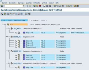 SAP Produktsicherheit - Berichtsinformationssystem