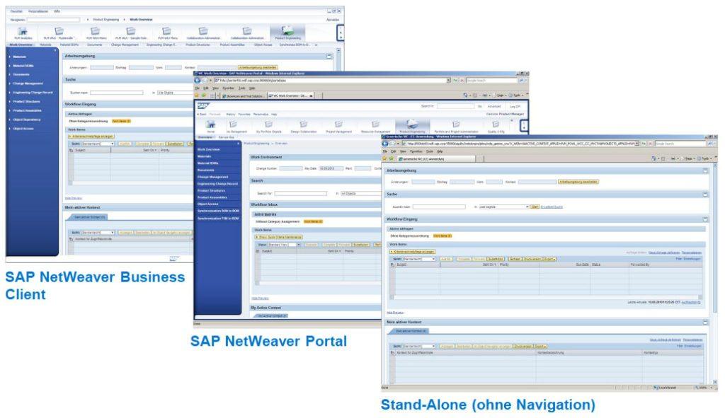 SAP PLM 7 - Rollenbasierter Arbeitsplatz