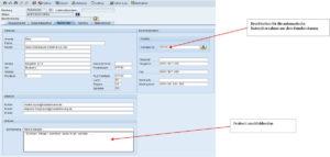 SAP Reklamationsabwicklung - Informationen zum Q - Meldenden manuell erfassen